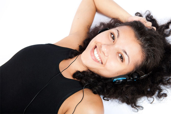 Put on your earphones and listen to your favourite music track or take a quick five-minute nap every few hours.