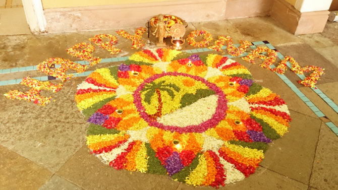 Your Onam PICS: King Mahabali, Pookalam and more