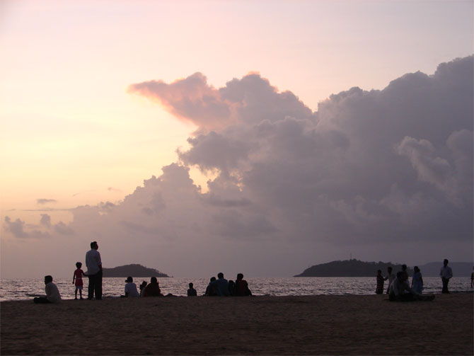 Karwar is an array of stunning beaches.