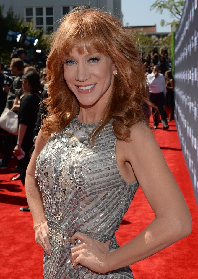 Kathy Griffin attends CW Network's 2013 2013 Young Hollywood Awards in California