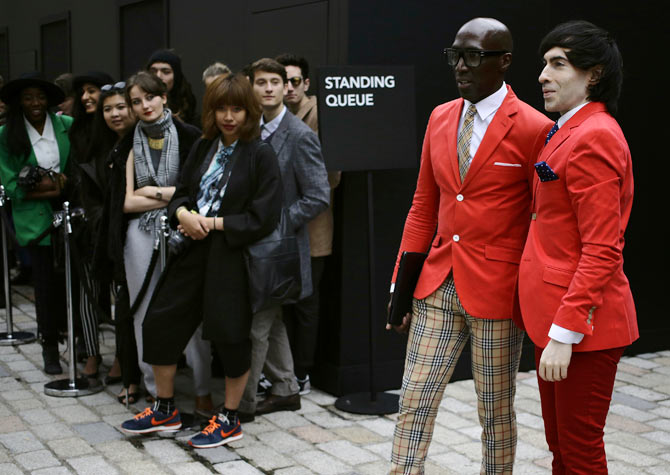 Photos: Off-ramp styles at London Fashion Week