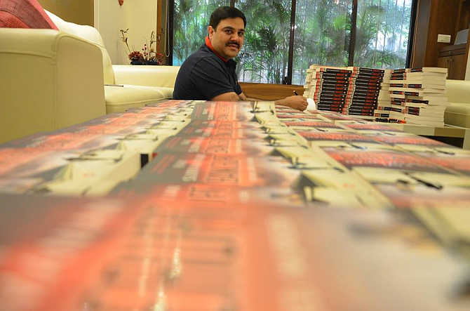 Crime thriller Bankerupt is Ravi Subramanian's sixth book in six years.