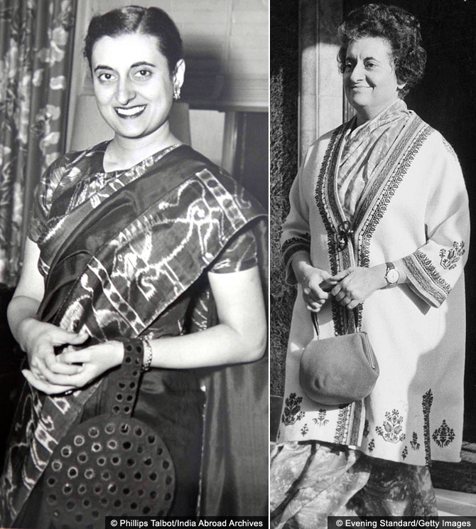 Indira Gandhi, the ultimate power dresser