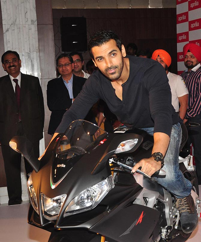 PICS: John Abraham's latest superbike