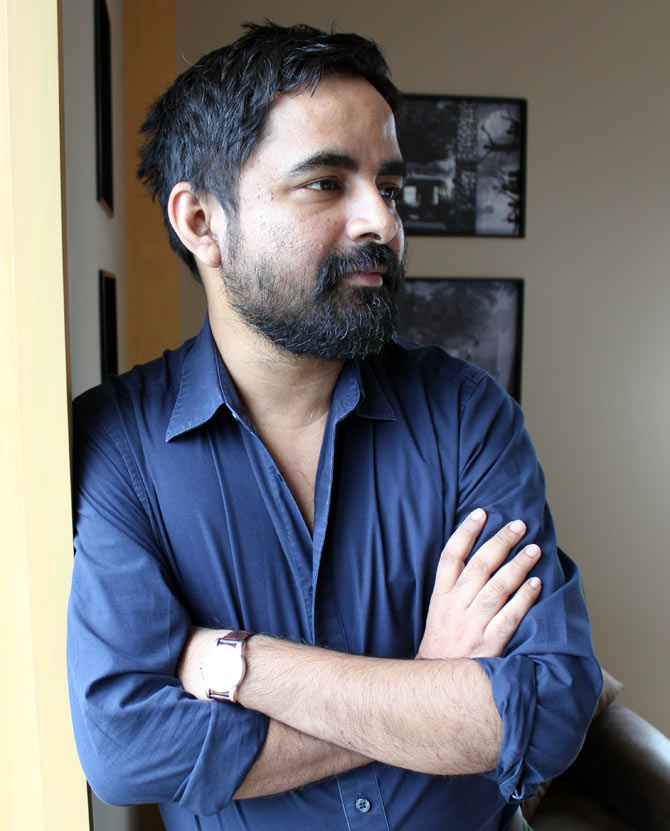 Even hours before his big show at Lakme Fashion Show, Sabyasachi Mukherjee is a portrait of calm.