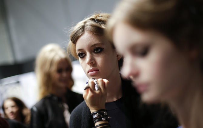 Cuteness overload: Behind the scenes at Milan Fashion Week!
