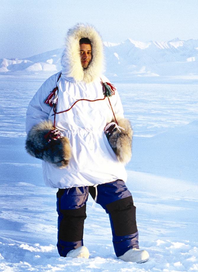 Subhankar Banerjee at the Arctic