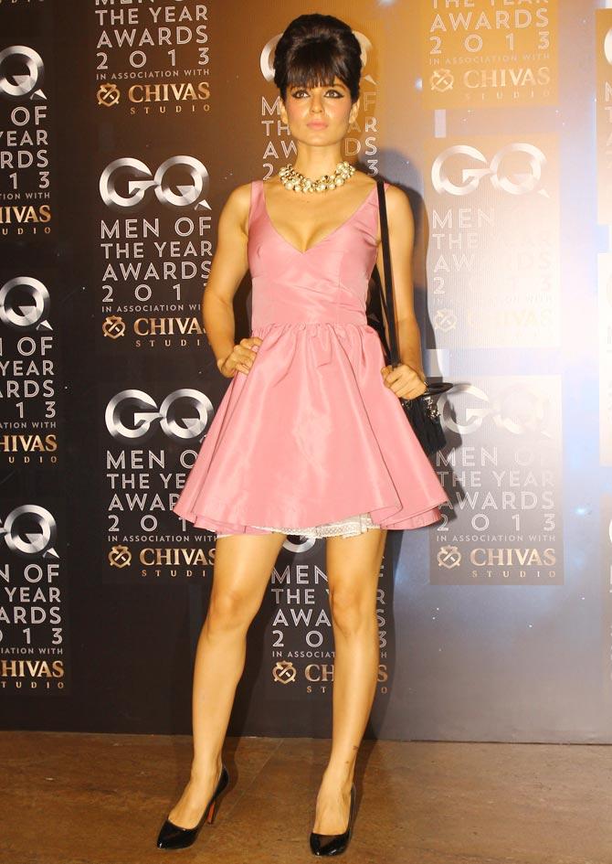 Kangana Ranaut At GQ Awards Night