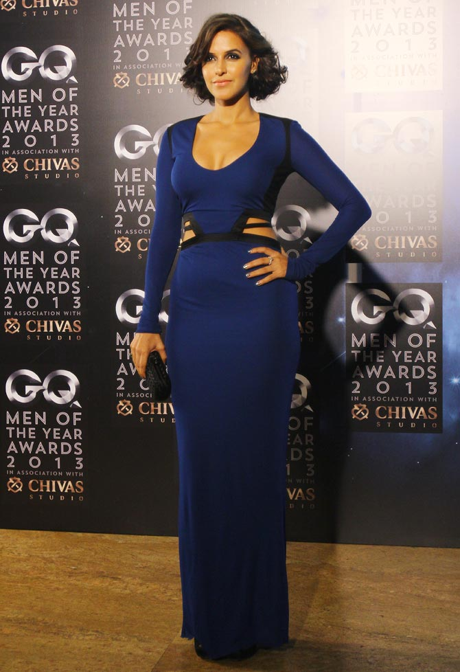 Neha Dhupia at GQ Awards Night