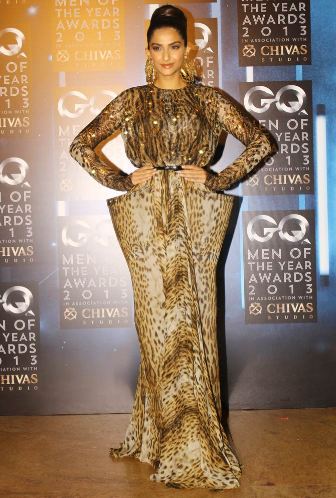 Sonam Kapoor At GQ Awards Night