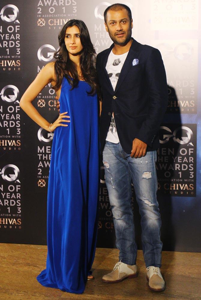 Pragya Yadav (L) with Abhishek Kapoor
