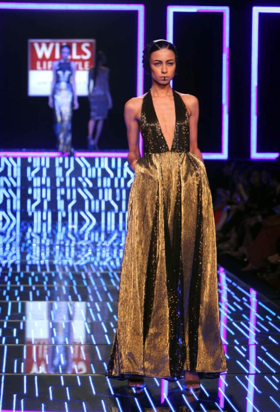 A model in a Namrata Joshipura creation