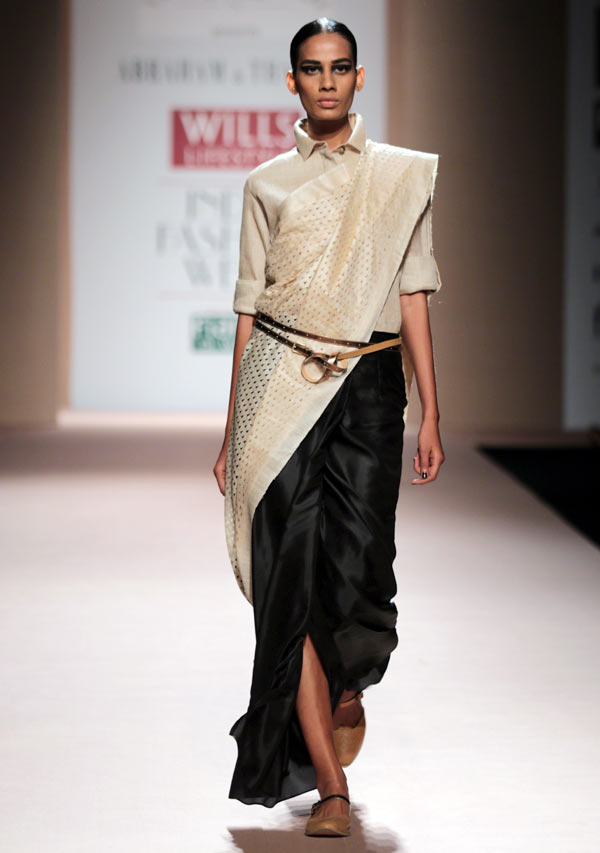 Sony Kaur in an Abraham and Thakore creation
