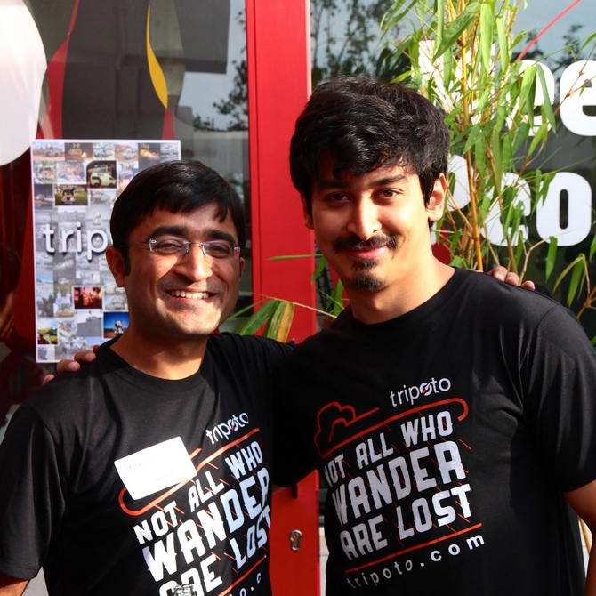 Michael Lyngdoh and Anirudh Gupta run Tripoto.com, a social platform that allows travellers to share their stories and itineraries