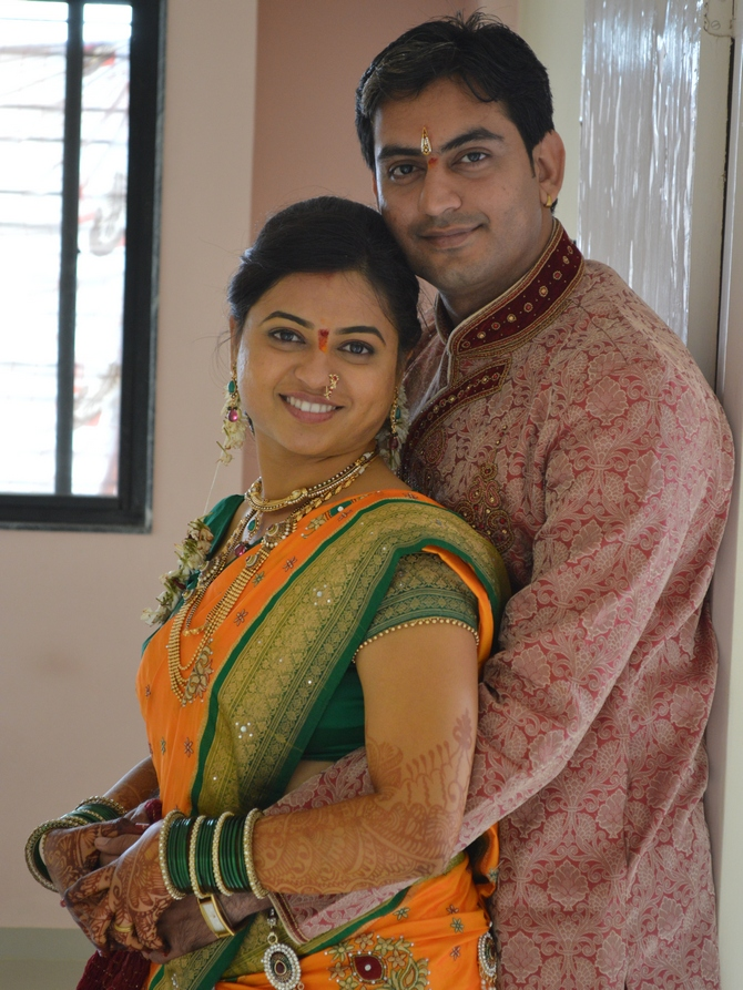 Kapil and Sonali Relan have been married for a little over two months.