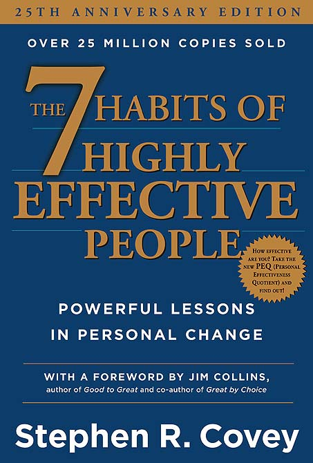 Book cover of The 7 Habits of Highly Effective People