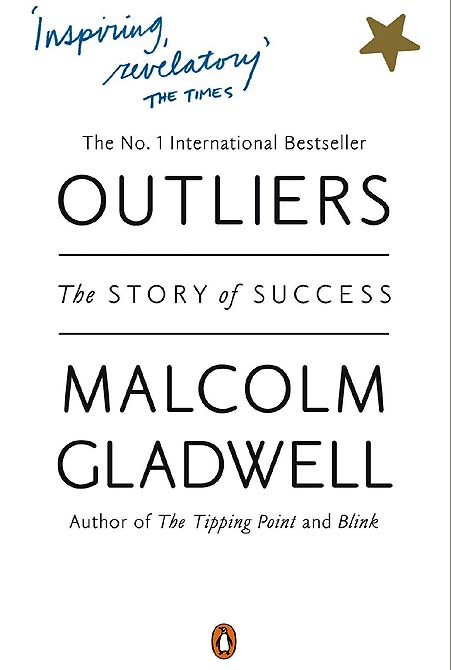 Book cover of Outliers: The Story of Success