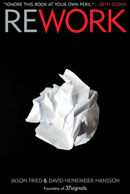 Book cover of Rework