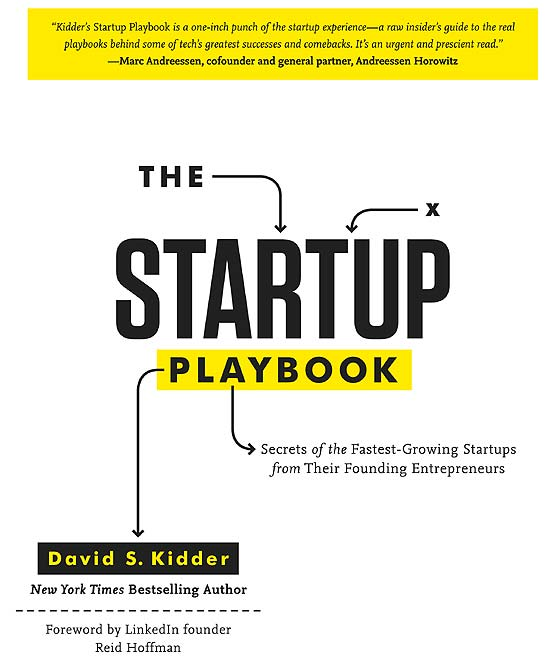 Book cover of The Start-Up Playbook