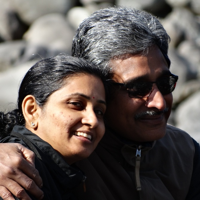 Prodipto Roy and Jayashree Ayer have been married for over 27 years.
