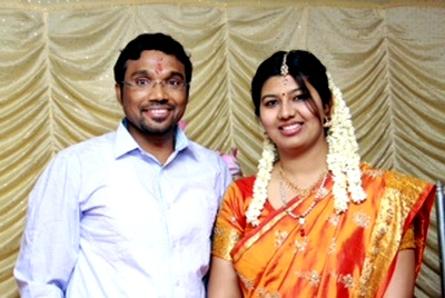 Prakash Narayanan and Meenakshi Prakash have been married for a little over a year and a half.
