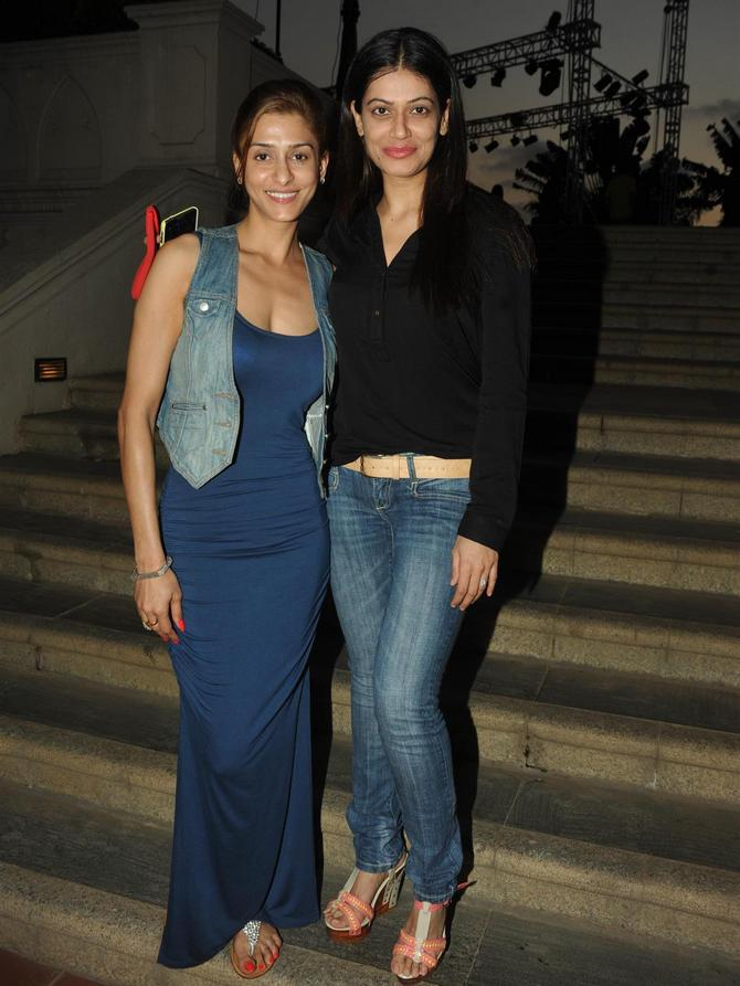 (L-R) Shilpa Sakhlani and Payal Rohatgi