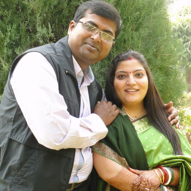 Jayant and Kalpaka have been married for over a year and half.