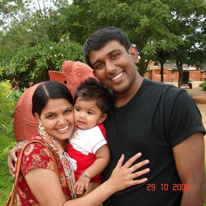 Nishant and Pratibha have been married for nine years now and have two daughters.