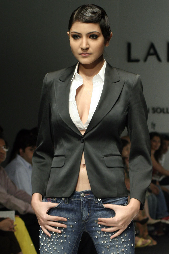 Anushka Sharma at Lakme Fashion Week 2007