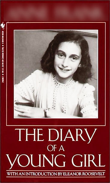 3. Who wrote <I>The Diary of a Young Girl</I>?