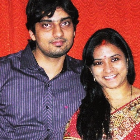 Sravanthi and Amitabh have been married since February 2010