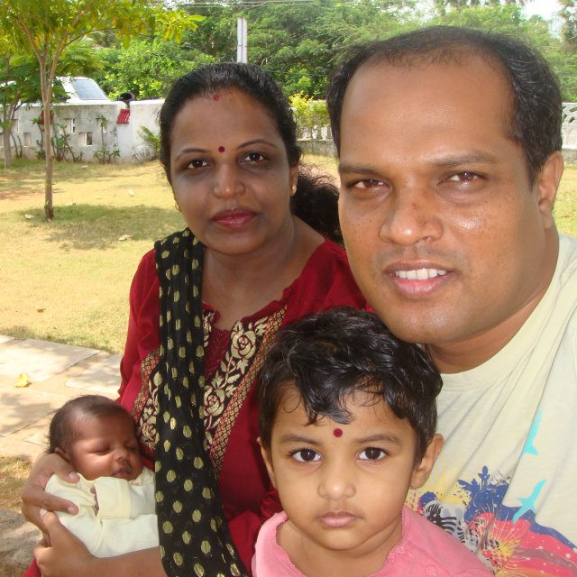 Ranjini and Sanjay first met in 1994 when she was in Class 11!