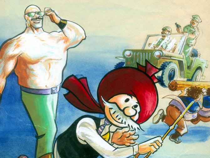 What planet does Chacha Chaudhary's sidekick, Sabu come from?