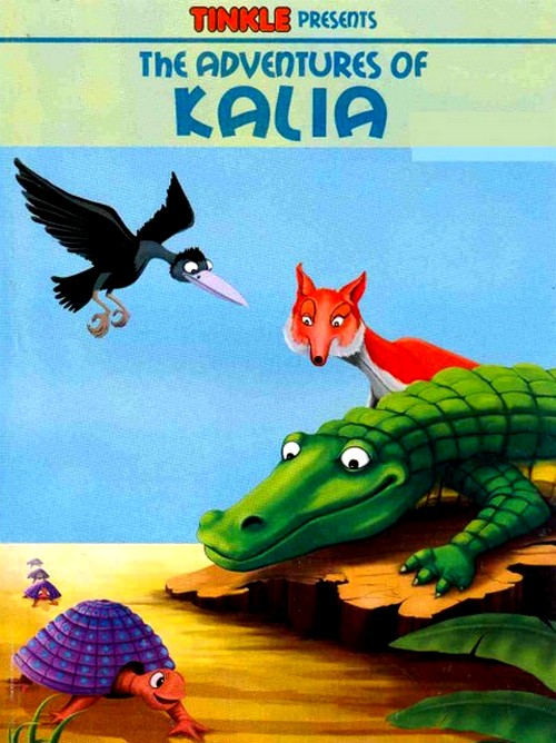 You remember Kalia the crow from Tinkle. What is the name of the crocodile?