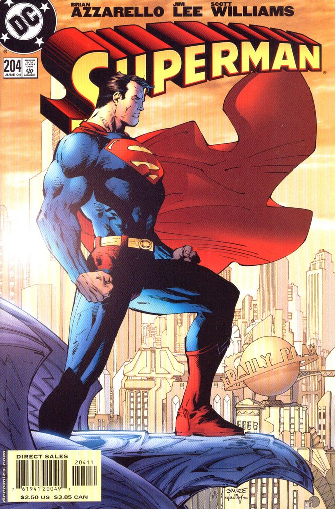 Superman entrusted a piece of kryptonite in the hands of a fellow superhero. Who is it?