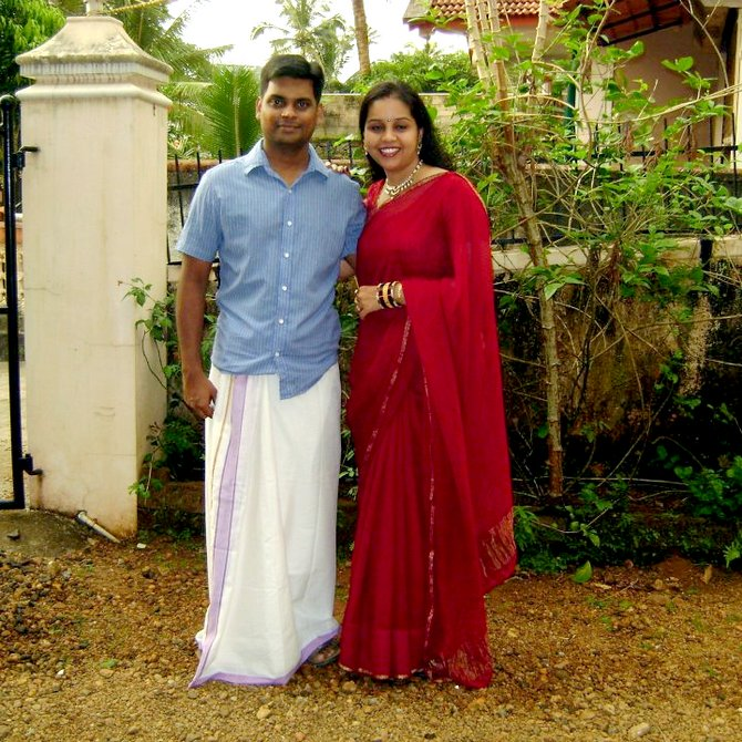 Flight Lieutenant Vijay Nair and Mansi Bhatnagar have been married for a little over six years now
