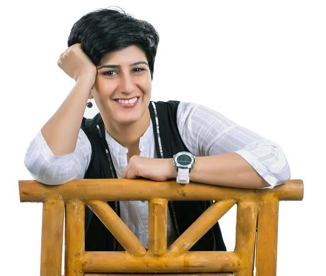 Neeti Palta was senior art director at JWT, a leading advertising firm before she chose to write comedy.