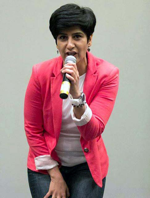 Through Loony Goons, Neeti Palta is connecting with comedians across the country.