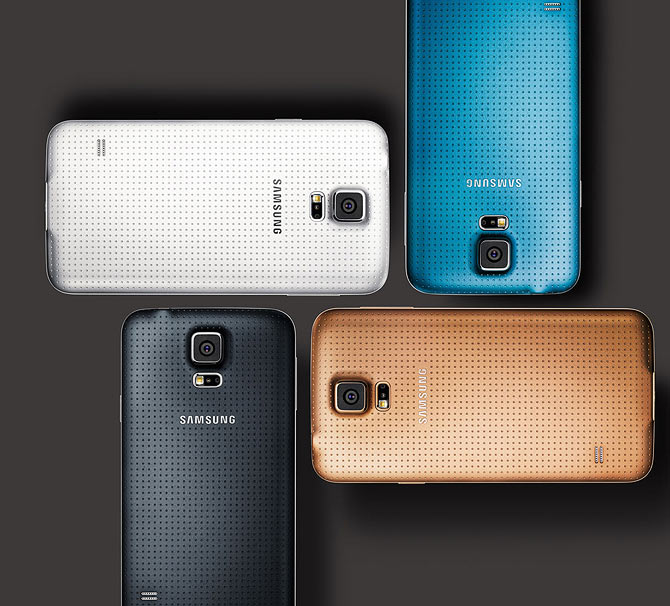 Samsung Galaxy S5 takes on iPhone 5S head on