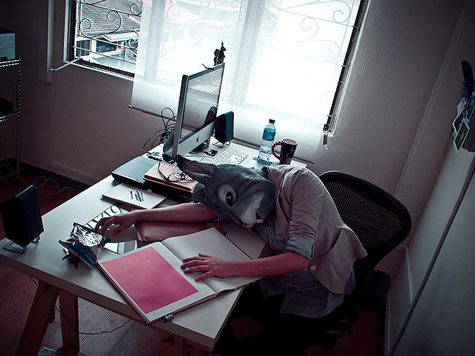 Would you have slacked off if you were in the office? (Picture used here for representational purposes only.)
