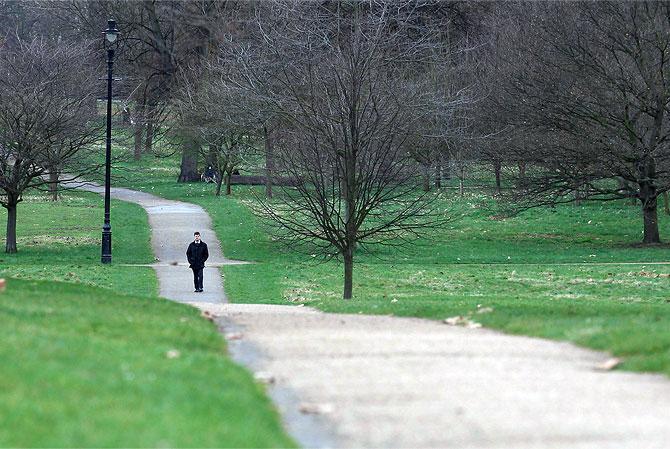 2. Take a walk!