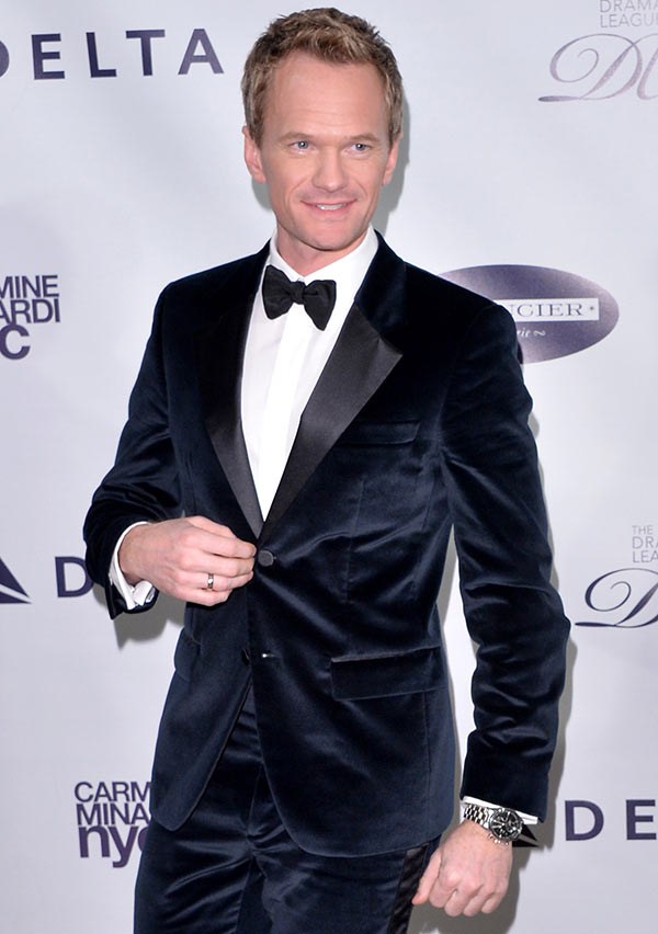 Neil Patrick Harris attends The Drama League's 30th Annual Musical Celebration of Broadway honoring Neil Patrick Harris at The Pierre Hotel on February 3, 2014 in New York City.