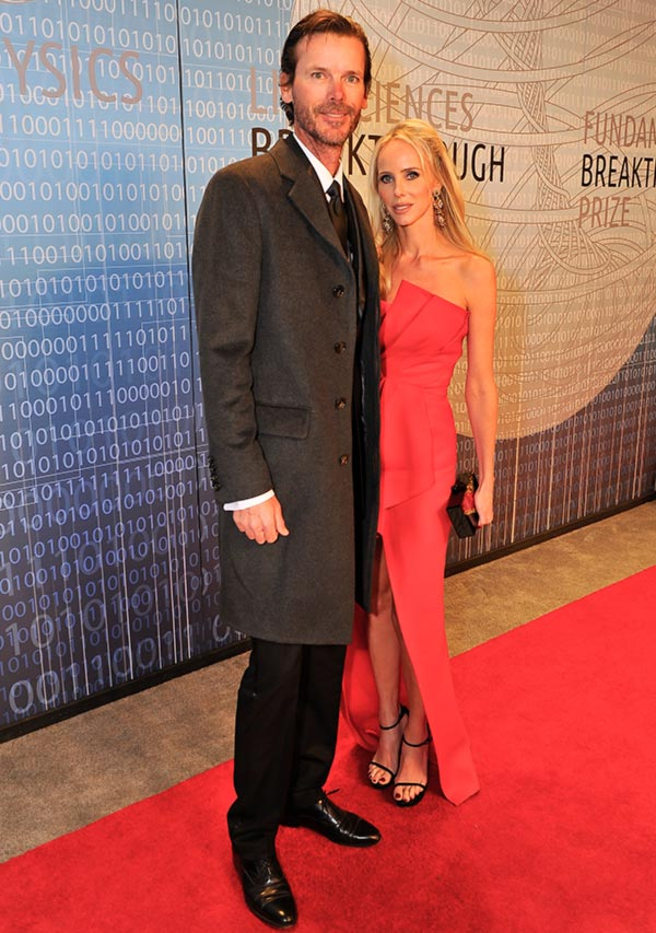 Vanessa and Billy Getty attend the 2014 Breakthrough Prize Inaugural Ceremony for Awards in Fundamental Physics and Life Sciences at NASA Ames Research Center on December 12, 2013 in Mountain View, California.