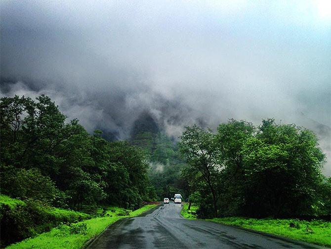 Malshej Ghat, Maharashtra