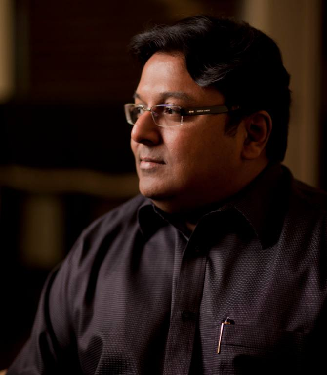 Ashwing Sanghi, author of Private India