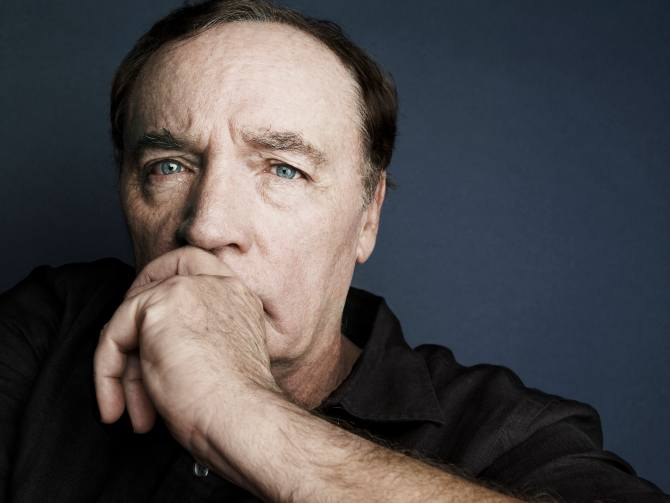 Author James Patterson with whom Sanghi has collaborated on Private India