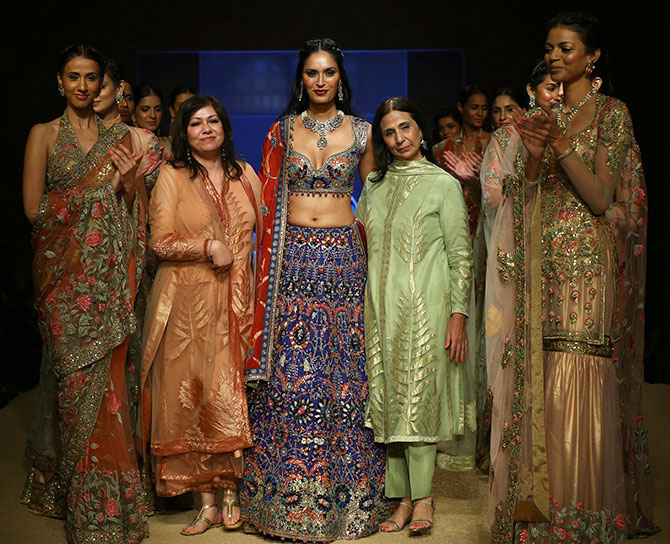 Ujjwala Rawat wears a stunning neckpiece from Azva.