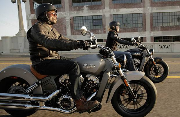 Bikes India 2015 Indian Scout