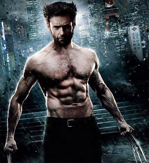 Hugh Jackman in and as Wolverine