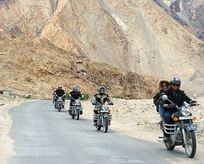 Trip to Ladakh: Budget better, ride better